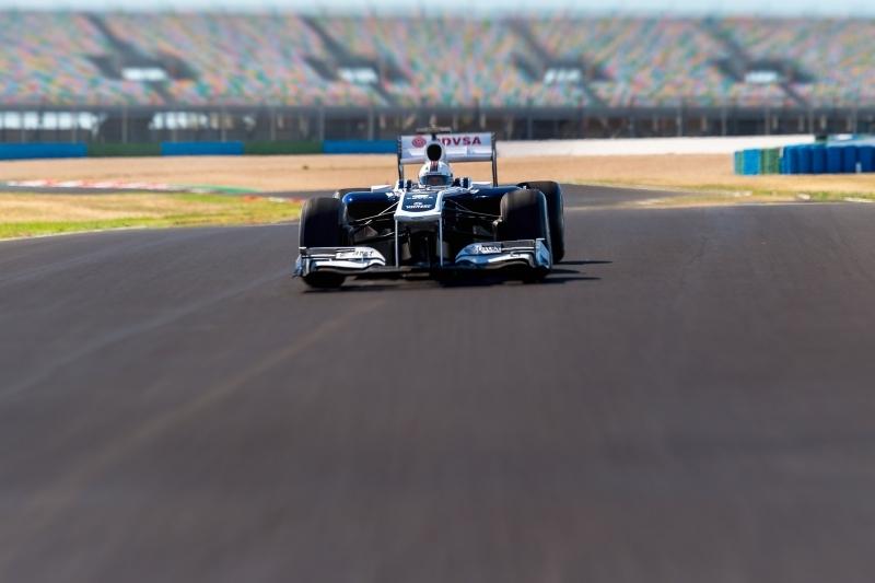 Praktikum-steuerung F1 Williams FW33 auf dem Circuit von Magny-Cours Grand-Prix