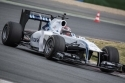 Praktikum-steuerung F1 Williams FW33 auf dem Circuit de Barcelona-Catalunya